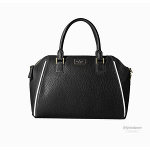 Kate Spade Pippa Prospect Place Black Handbag